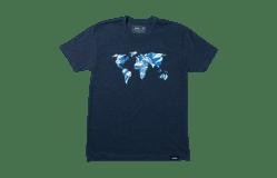 T-Shirt-mit-Grafik-Global-Lifestyle-Bild-Mobilgerät