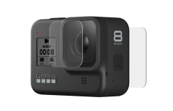Защитные пленки из закаленного стекла для объектива+ экрана для HERO8 Black-image-mobile