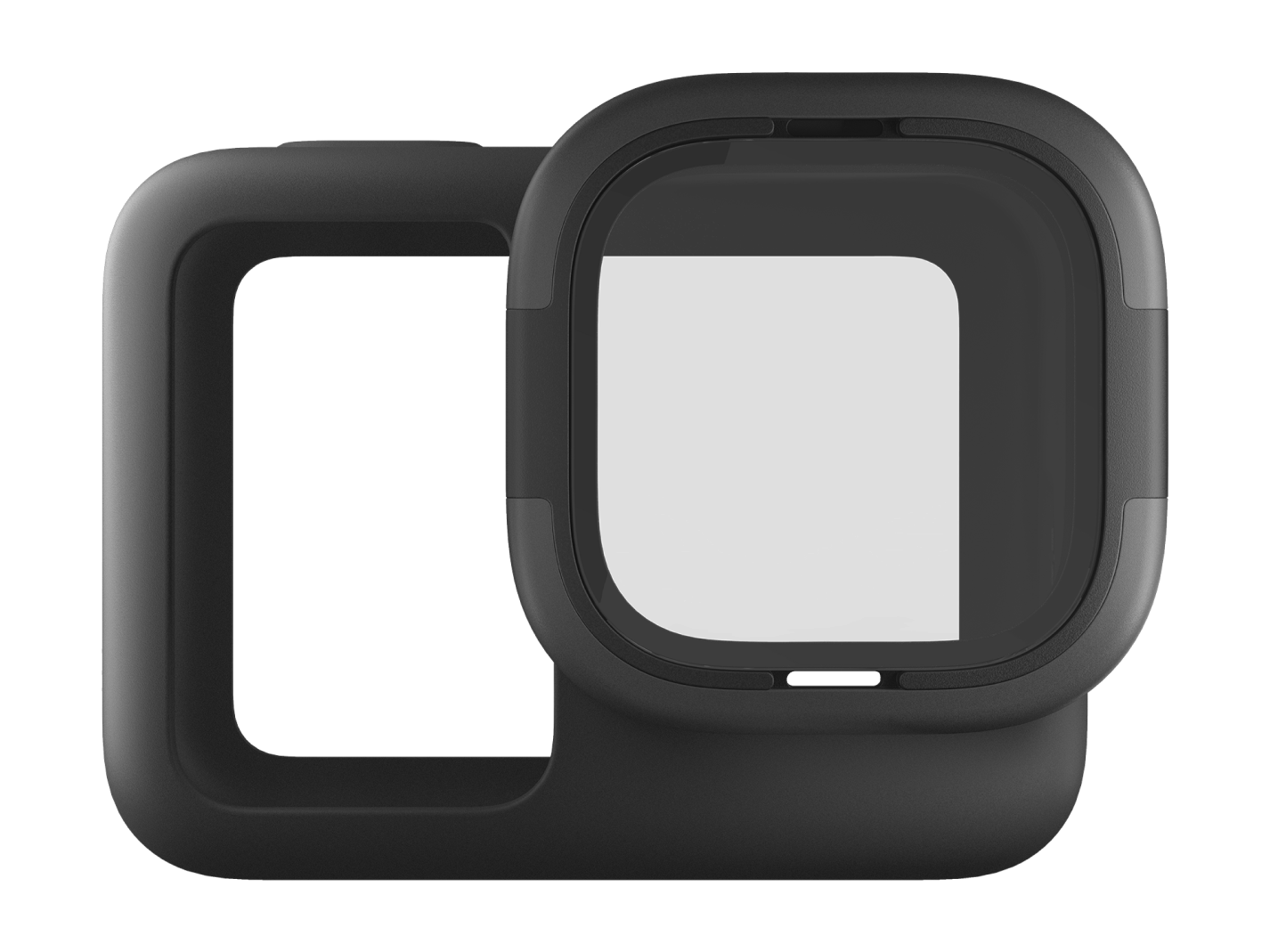 Rollcage - Protective Sleeve + Replaceable Lens for HERO8 Black-side-image