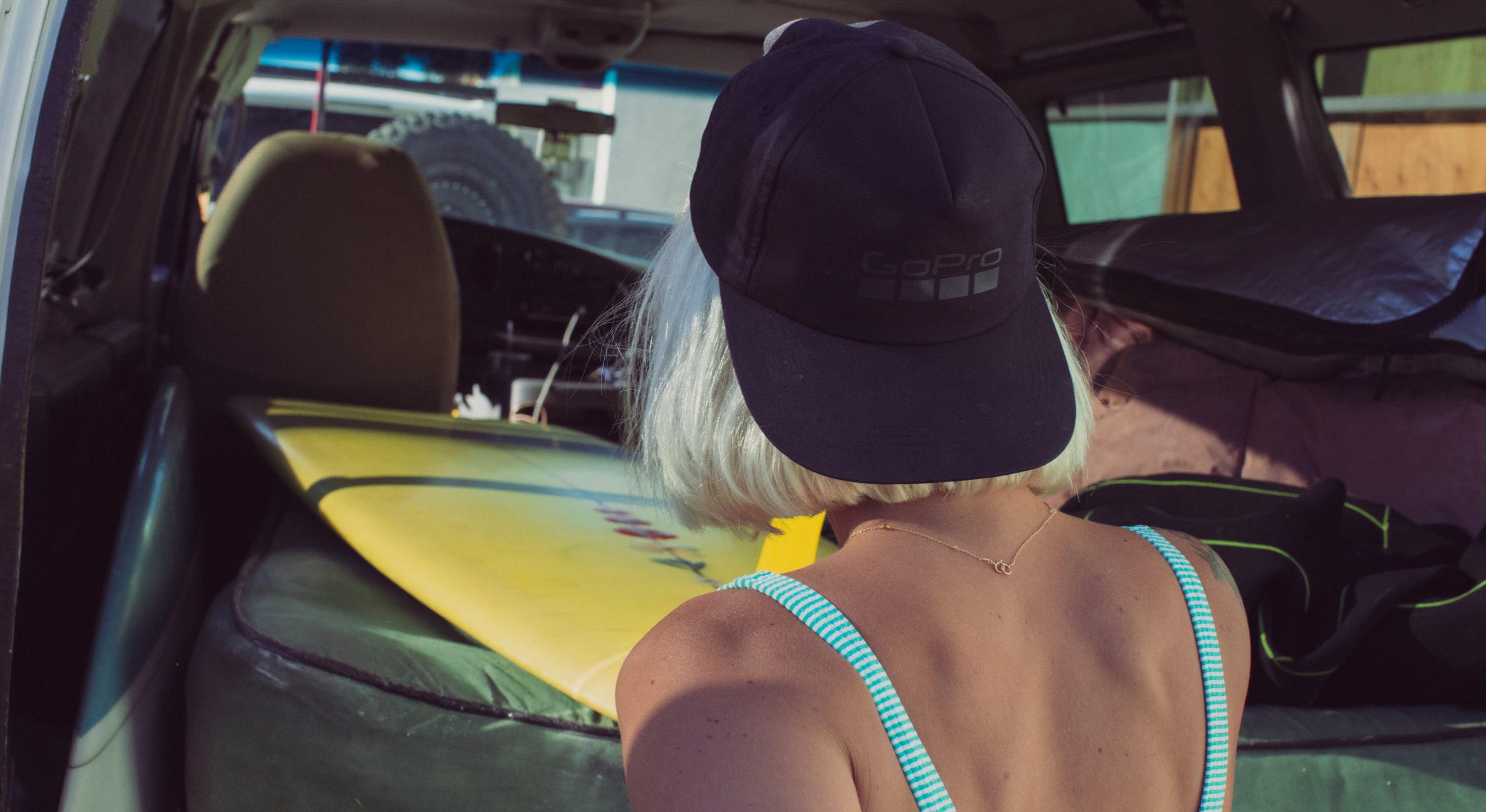 Soft Top Relaxed Fit Snapback Hat-lifestyle-image