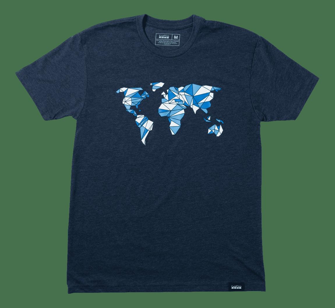 T-Shirt-mit-Grafik-Global-Vorderseite-Bild