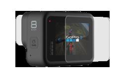 Защитные пленки из закаленного стекла для объектива+ экрана для HERO8 Black-back-image-mobile