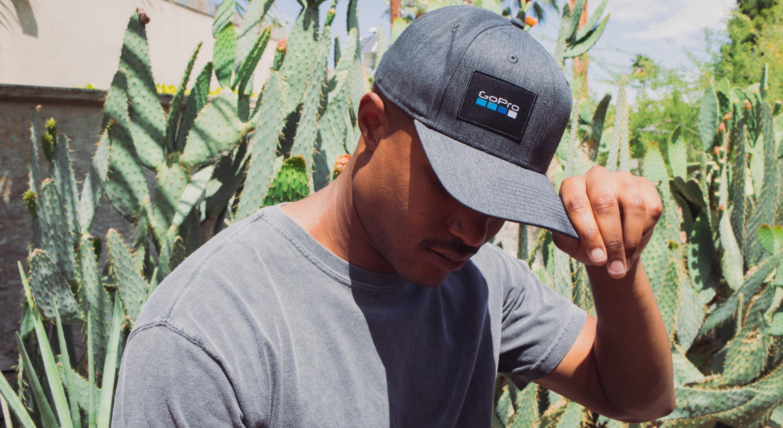 El Cap Logo Snapback Hat-man-image
