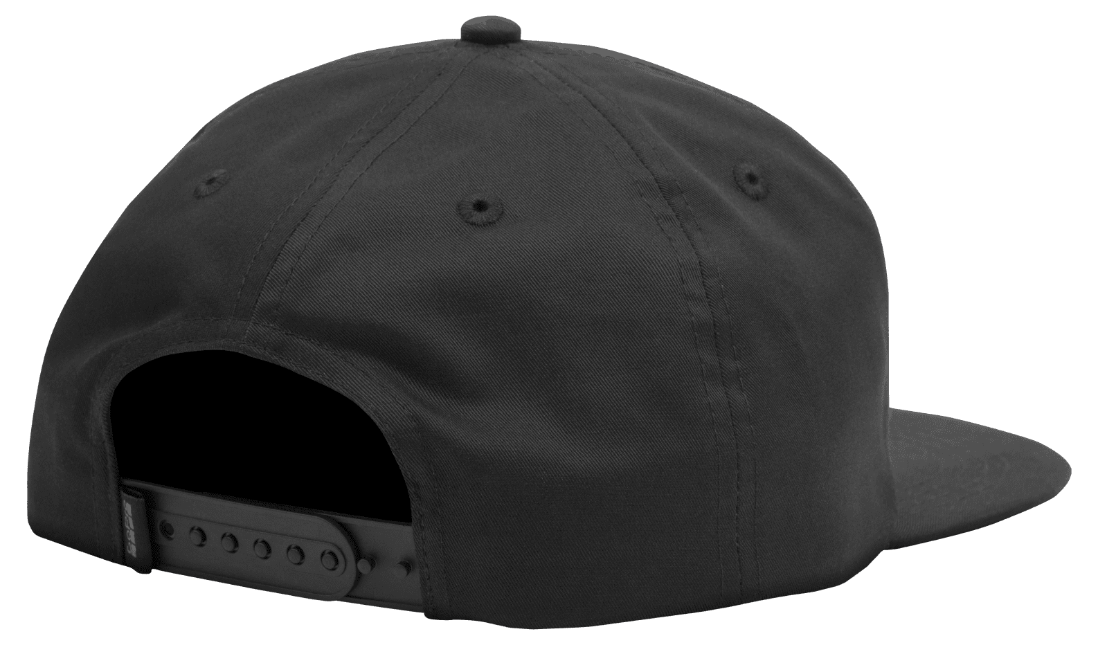 Soft Top Relaxed Fit Snapback Hat-back-image