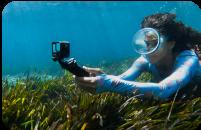 Mergulho com snorkel com a HERO9 Black