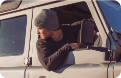 Half Dome Knit Beanie-lifestyle-image-mobile