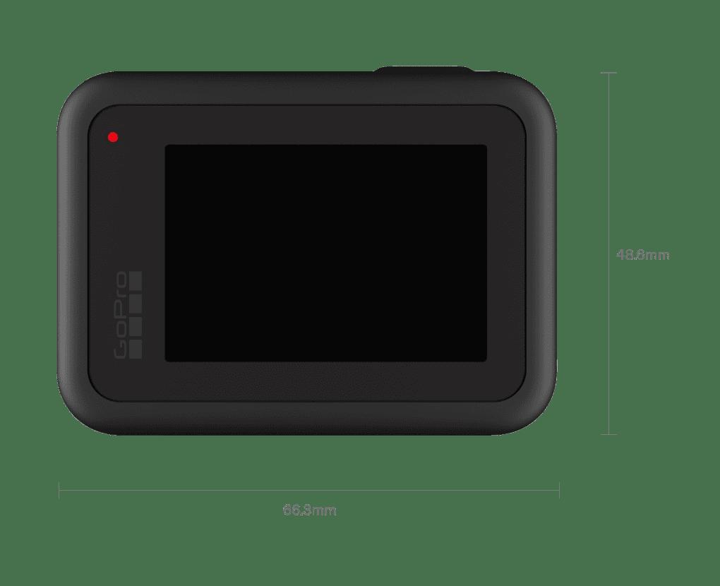 Hero 8 Black Back Features